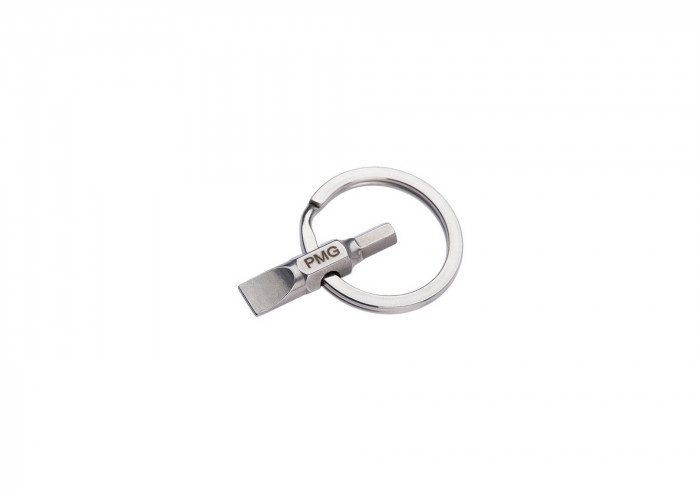ProMediaGear (A13) Flat Head and 5/32 Hex Key Chain Tool
